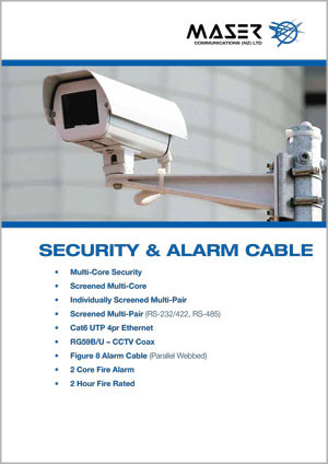 Security and Fire Alarm Cable Catalogue