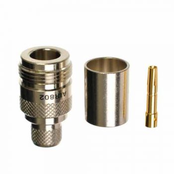 N-Type Female Crimp Socket To Suit RBK-400 Coaxial Cable (810202625)