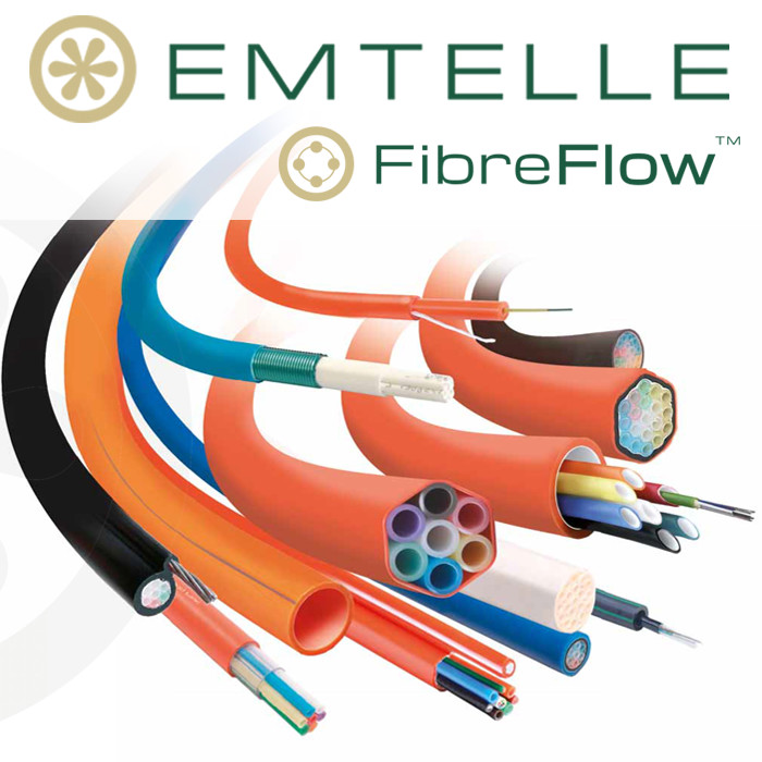 Emtelle Fibre Flow Air Blown Fibre System