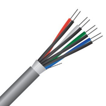 4 Pair, 0.22mm², Shielded, Belden, RS232 Data Cable (MAS4POS24)