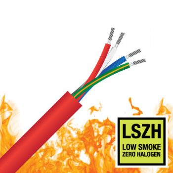 3 Core + Earth (4G), 1.5mm², TCW, 0.6/1KV, LSZH, AS/NZS3013, 2 Hour Fire Rated Cable (BFR 4G/1.5)