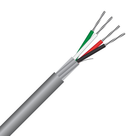 2 Pair, 0.8mm², 18 AWG, BMS / HVAC Control Cable (MAS2P18BMS)