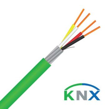 2 Pair, 0.8mm², Shielded, KNX Certified Cable (MAS2PKNX)
