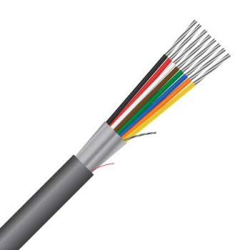 8 Core, 0.8mm², 18AWG, Shielded, Multi-purpose Cable (MAS8CS18)