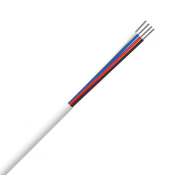 4 Core, 0.22mm², 100% Copper, Tinned, Security Cable (MSEC 4072 TCW)