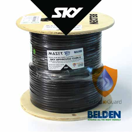 Rg6 Coaxial Cable Sky Approved Satellite Antenna Coaxial Cable Maser Communications - 32+ Rf Cable Distributor Background